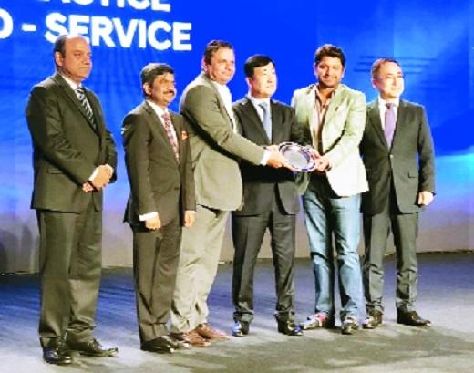 Ketan Hyundai bags three awards
