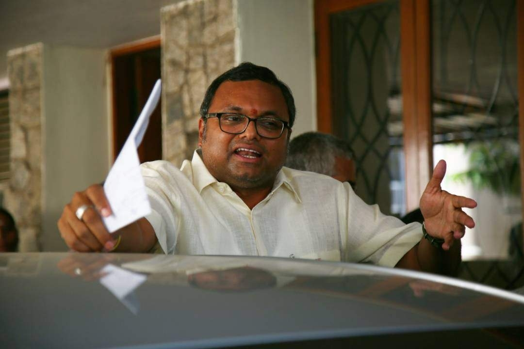 ED summons Karti in PMLA case