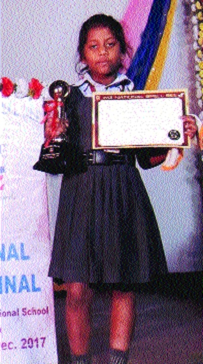 Sanskriti excels in Spell Bee contest