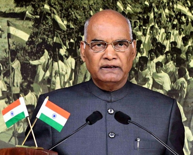 Kovind pitches for simultaneous polls