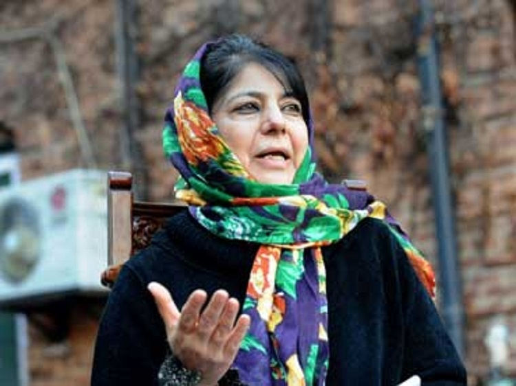 Mufti defends FIR against Army for Shopian firing, BJP opposes