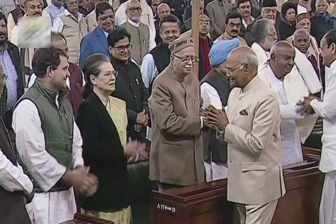 Rahul gets seat in front row during President's speech
