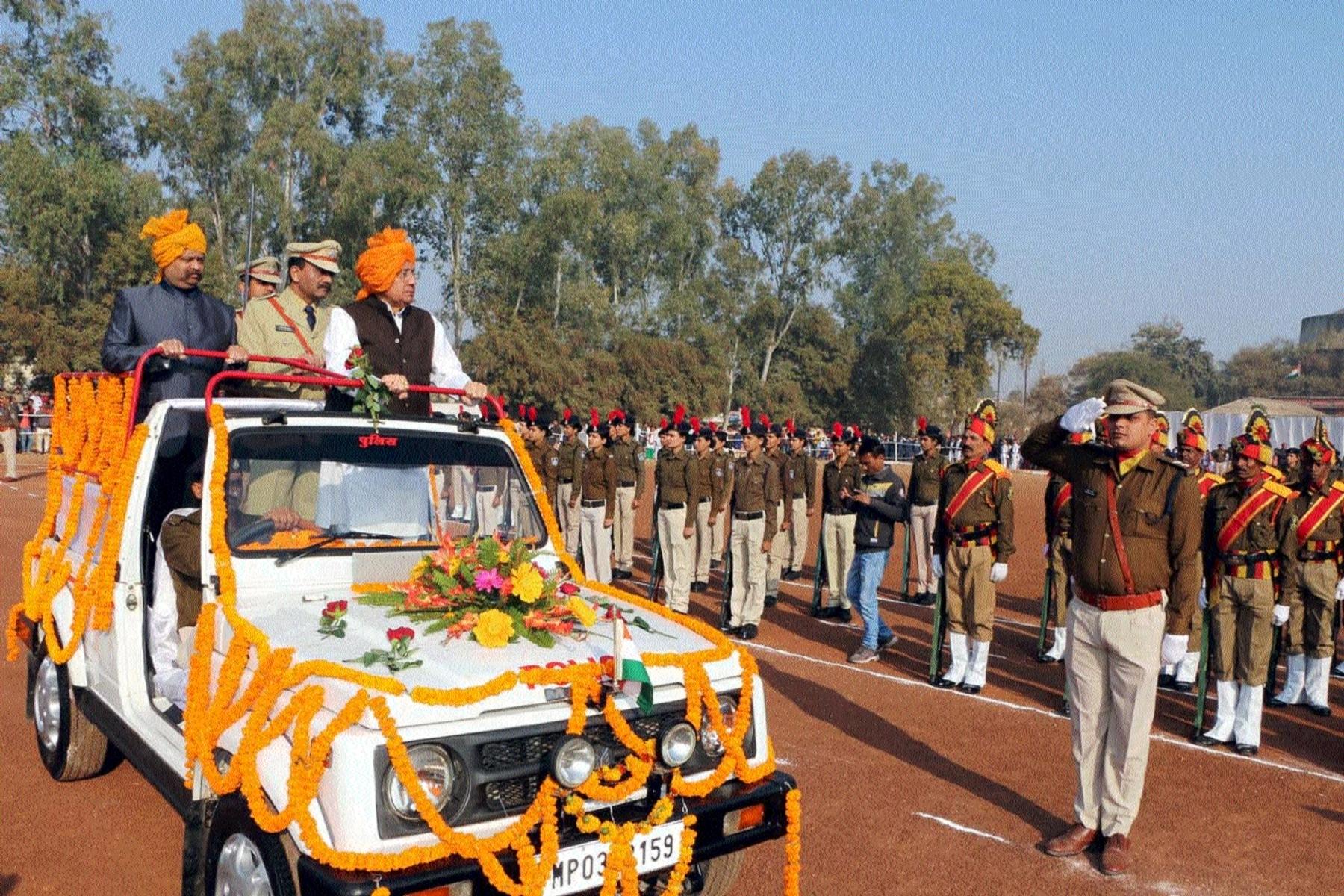 Deputy Speaker Dr Rajendra Kumar Singh graces R-Day function