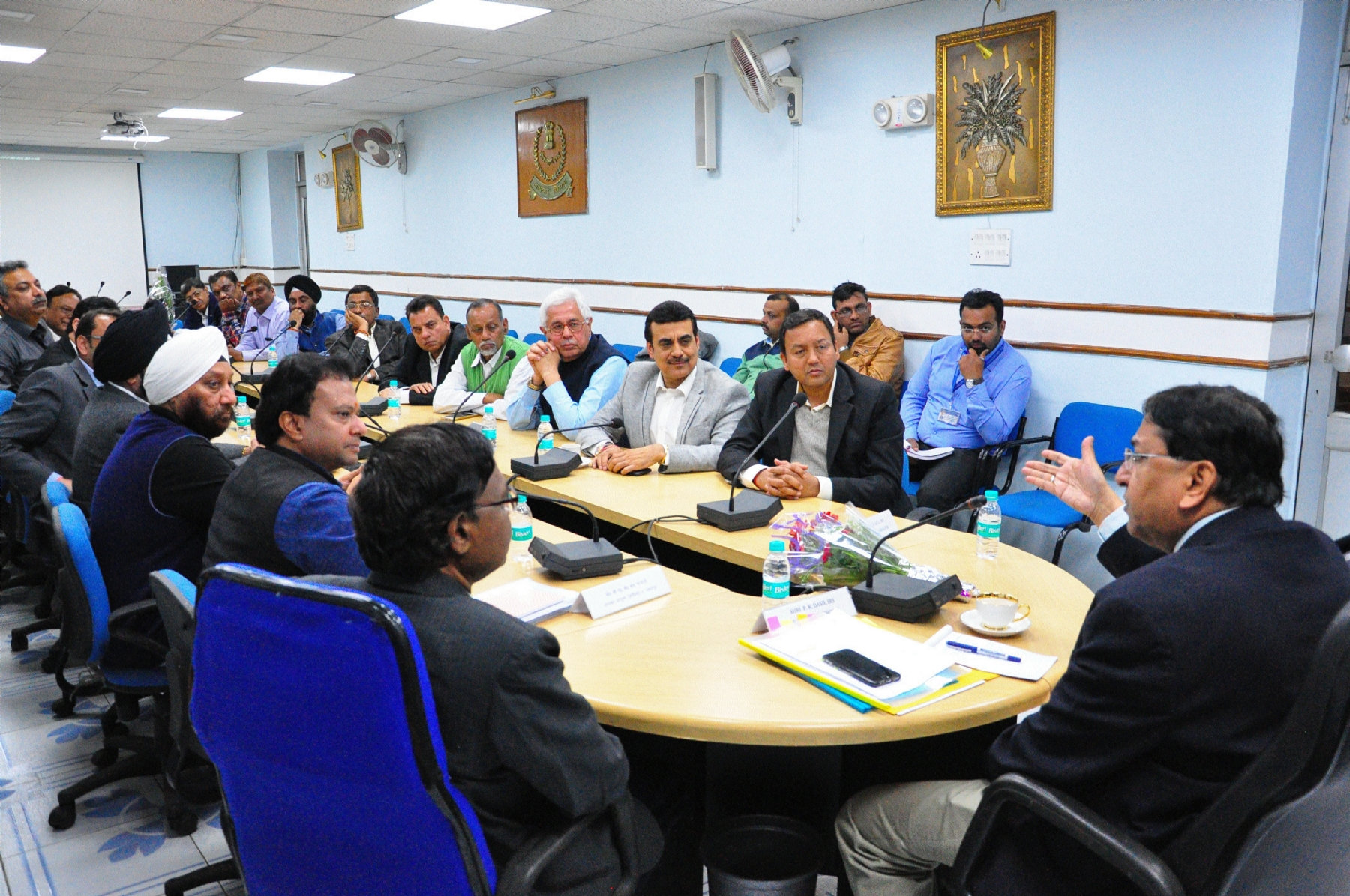 Principal Chief Income Tax Commr P K Das chairs meeting of business organisations