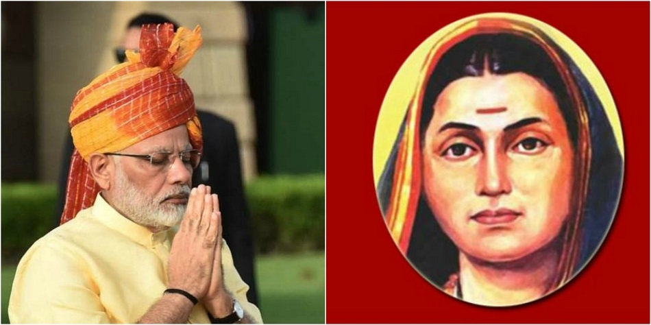 PM pays tributes to Savitribai Phule on birth anniversary