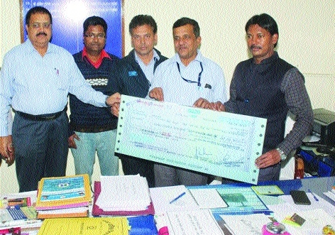 NHPCL donates Rs 47.02 lakh to BMC