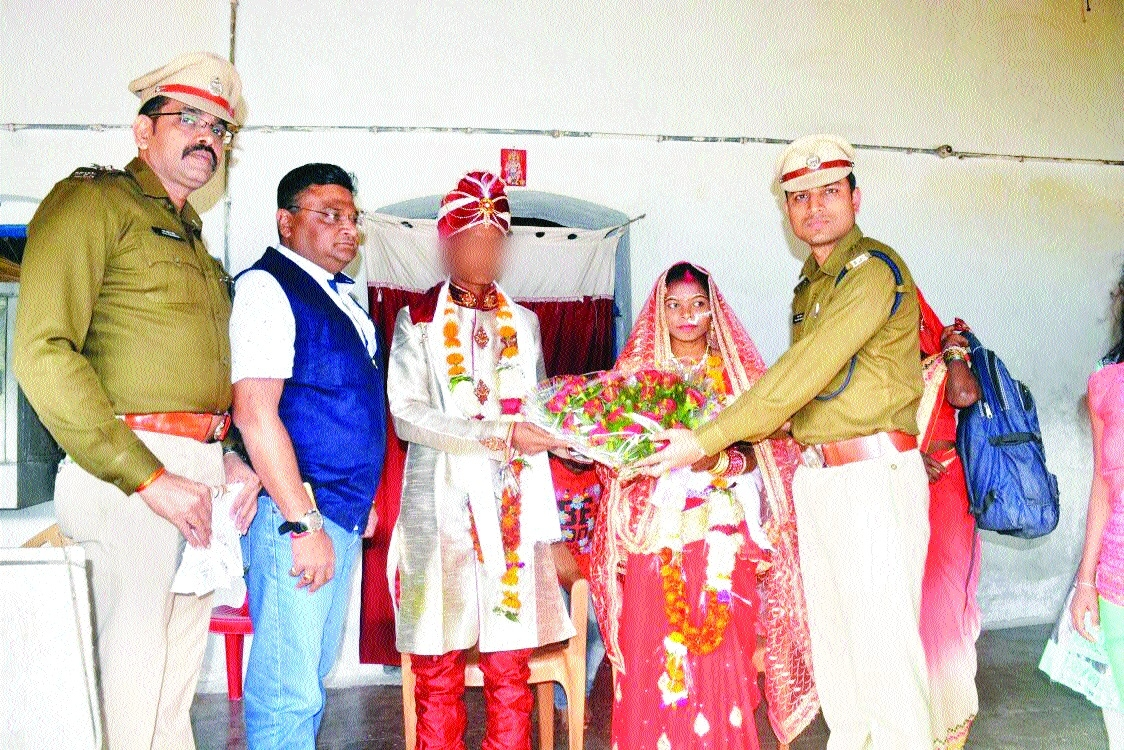 Cops ensure surrendered woman Naxal tie nuptial knot