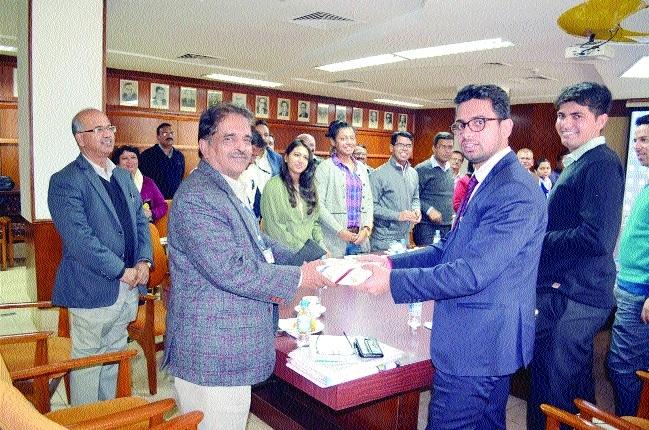 BSNAA IAS officer trainees visit BHEL