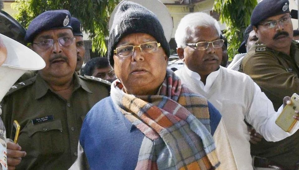 Lalu sentencing in fodder scam deferred again