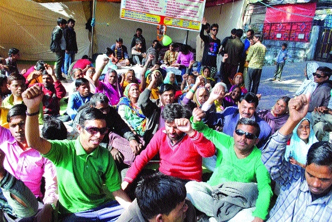 Visually impaired students gear up for Jal Satyagrah on 8th
