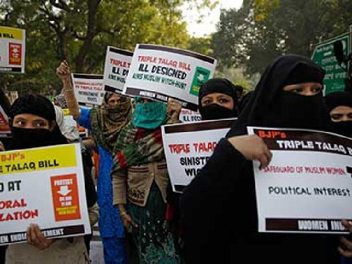 Triple talaq Bill in next Parlt session