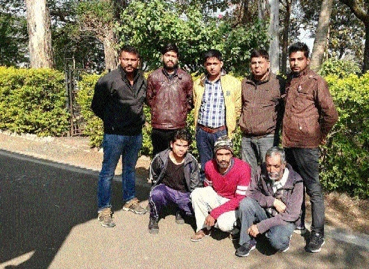 STF arrests 3 criminals wanted in 2016 murder case from Raipur