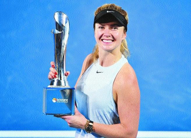 Svitolina wins Brisbane Intl title