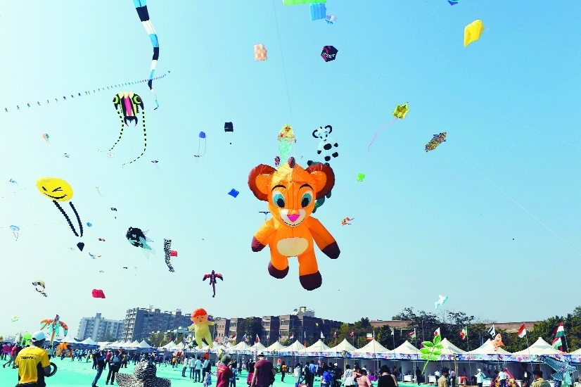 International Kite Festival 2018 Ahmedabad Gujarat