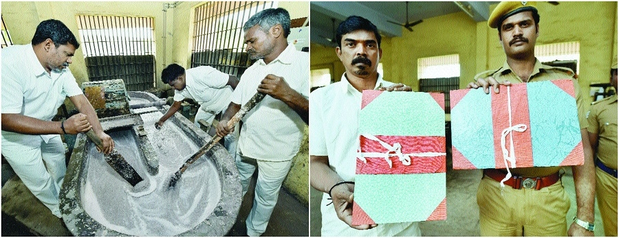 Prisoners convert banned notes into stationery