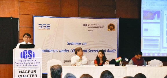 ICSI holds seminar on 'Compliance under LODR and Secretarial Audit'