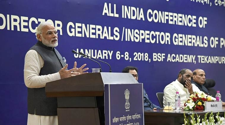Deal cyber crimes with highest priority, Modi tells top cops