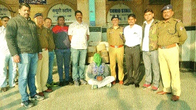 RPF seizes 11 kg ganja from train passenger, arrests youth