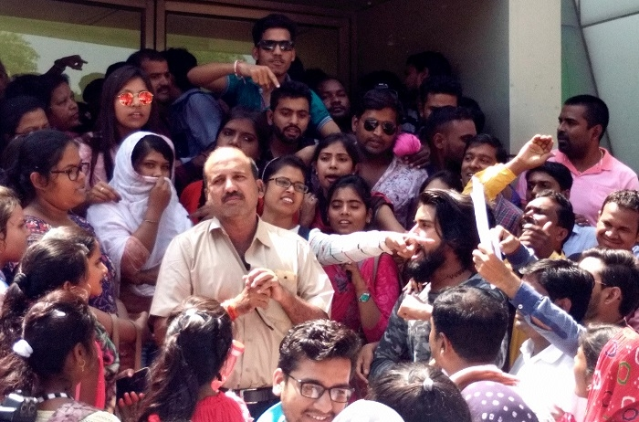 BEd aspirants protest 'irregularities' in admission