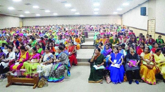 RSS' 'Madhya Bharat Prant Matrishakti Shivir' ends