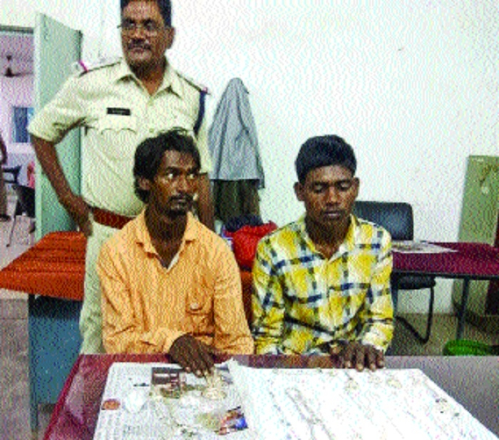 Two involved in various crimes arrested