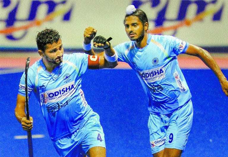 Skipper Mandeep scores to help India edge out Japan