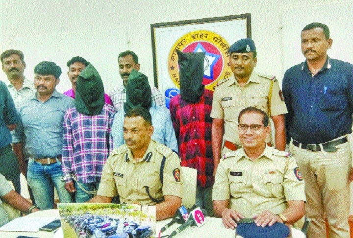 Nandanvan Police recover 33 stolen motorcycles from three-member gang