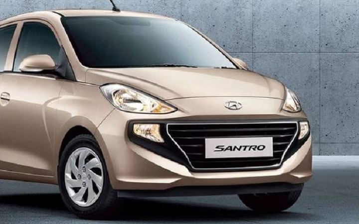 Online booking for new Santro begins