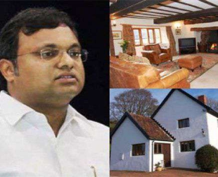 ED attaches Karti's Rs 54 cr assets in India, abroad