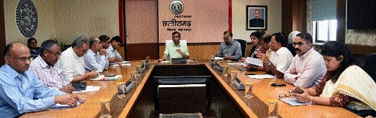 Chief Secretary chairs meeting ahead of Rajyotsav celebrations