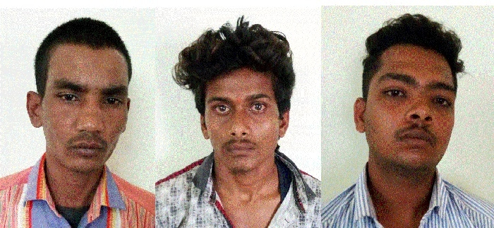 3 involved in different robbery cases nabbed