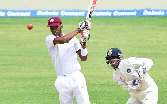 Roston Chase defies India