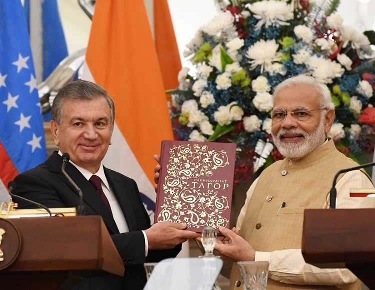 India, Uzbekistan set $1 bn annual bilateral trade target