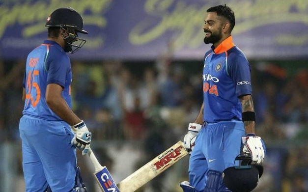 Kohli, Sharma pummel WI with centuries