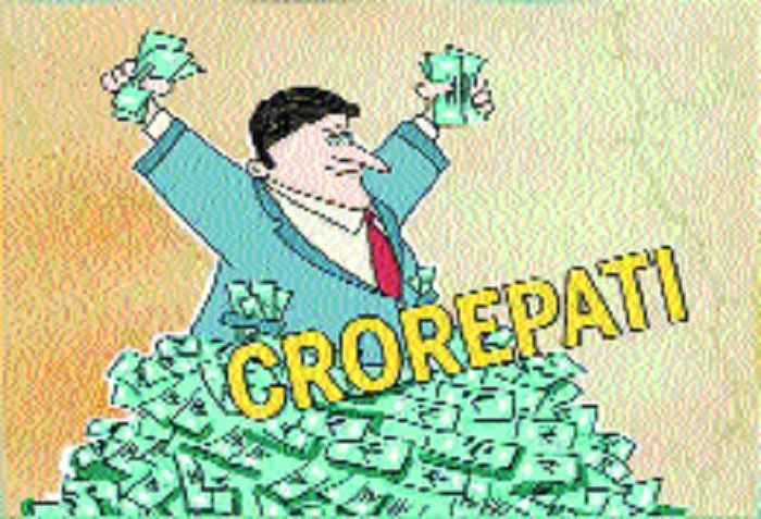 Number of crorepatis has risen by 60 pc in India: CBDT