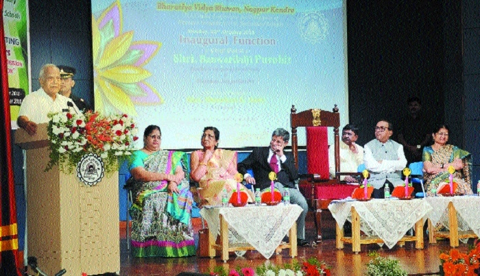 Simple lifestyle must become a habit: Purohit