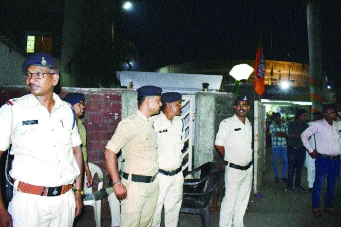 Security beefed up at BJP headquarters