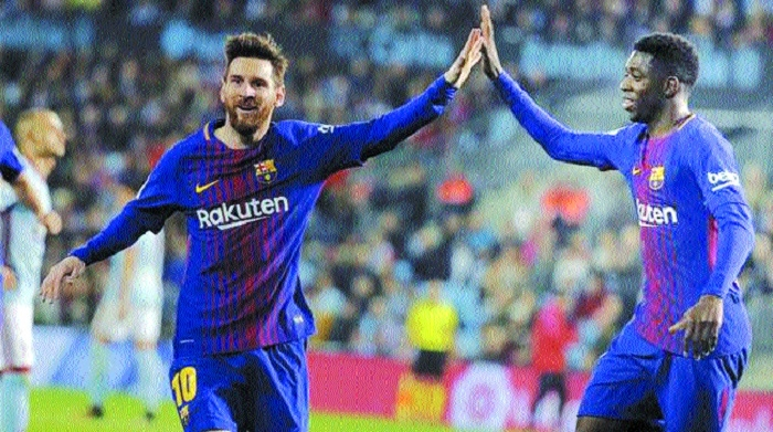 Barca look for Messi solution