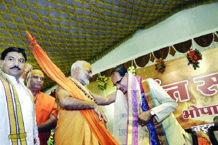 CM blessed for transforming Madhya Pradesh