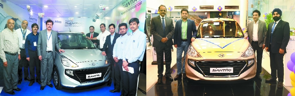 Hyundai launches all-new Santro