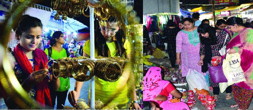 Soaring prices fail to dampen spirit of shoppers this festival