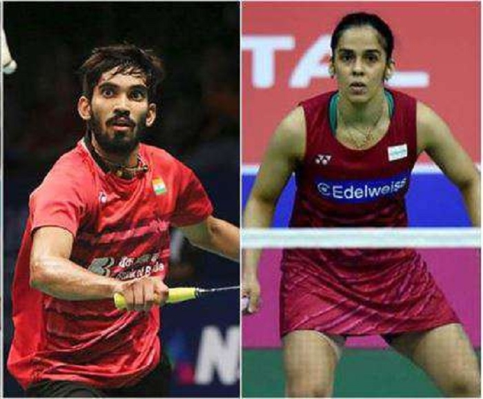 Saina, Srikanth enter 2nd round