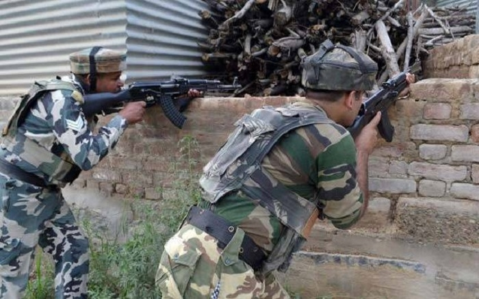 Six militants killed in 2 encounters in J&K