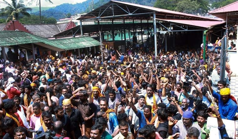 1,400 arrested in connection with Sabarimala protests