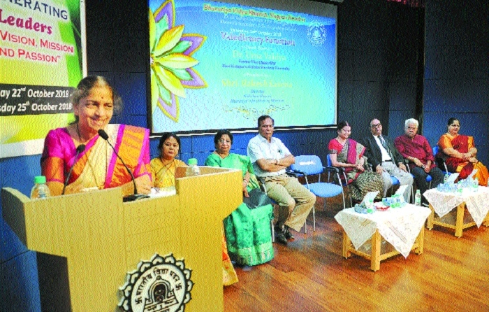 Educationist must produce morally upright human beings, says Dr Uma Vaidya