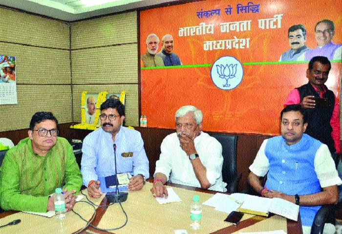 BJP Govt schemes have become exemplary, says Prabhat Jha
