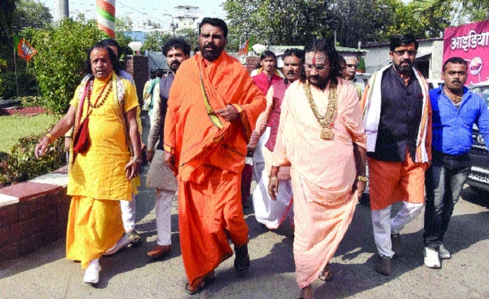 Elections: Saints in line for BJP ticket