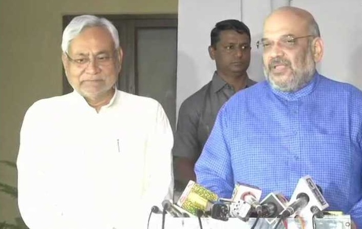 BJP-JD(U) to contest equal number of LS seats: Shah, Nitish