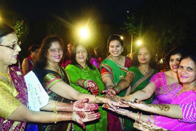 Festive fever grips city on 'Karwa Chauth'