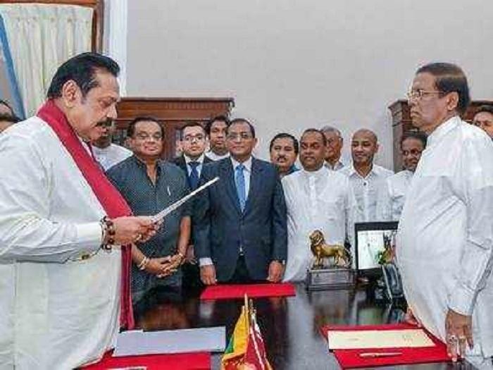 Lankan President suspends Parlt till Nov 16
